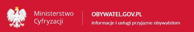 Banner prowadzący odnośnikiem do strony www.obywatel.gov.pl