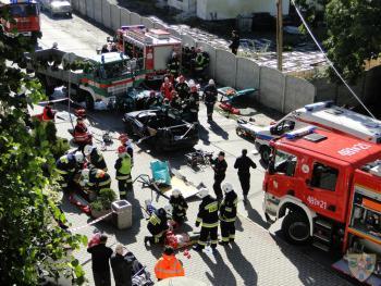Galeria Ćwiczenia strażackie Lubrza 2013