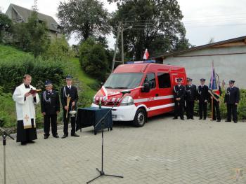 Galeria Przekazanie nowego wozu strażackiego dla OSP w Prężynce 06.09.2014